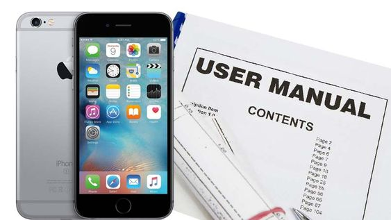 Iphone 6 User Manual And Instructions Guide Pdf For Beginners Iphone Tutorial Iphone User Manual