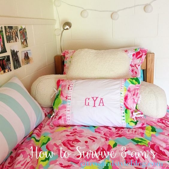 The Monogrammed Life: How to Survive 8 am's