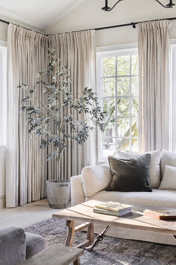 Linen Living Room Drapes Living Room Drapes Curtains Living Room Home Decor