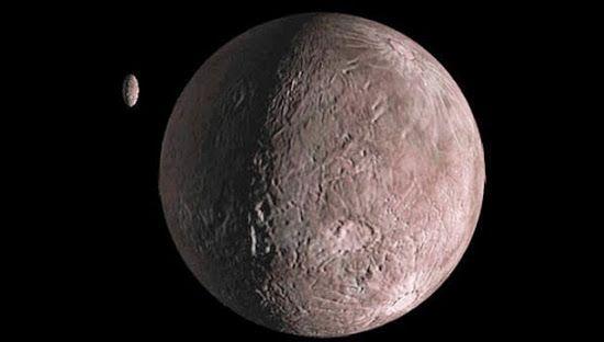 Quaoar é um planetóide que está além da órbita de Plutão no sistema solar. Saiba tudo sobre este bizarro objeto espacial.