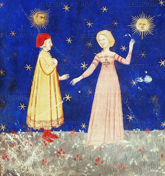 Paradiso, Canto I, Dante en Beatrice 14e eeuw