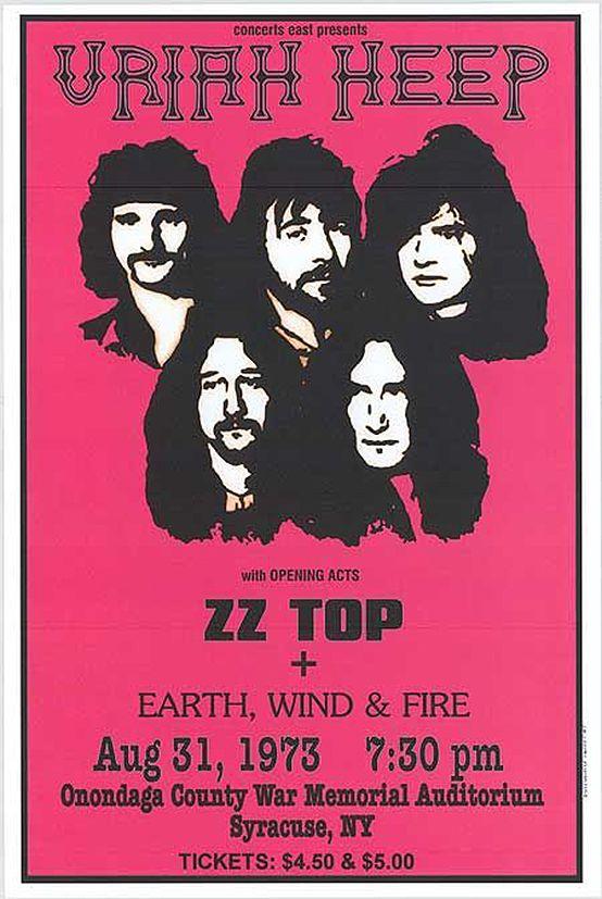 Lake /& Palmer  Poster Vintage 1973 Rock Band Emerson