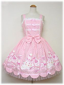 angelic pretty パステルア・ラ・モードジャンパースカート