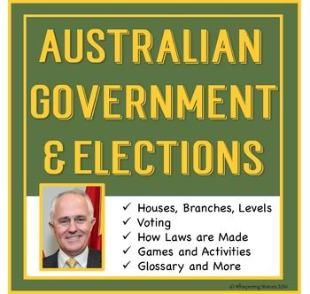 Australian Government for Year 4-7 and homeschool. Includes levels of government, branches of government, senate, House of Representatives, elections, preferential voting, laws and more. Information and activities.