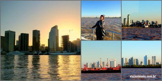 Chegada de barco em Buenos Aires