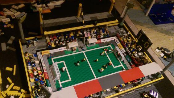 auch eins der ersten, so Regionalliga von der Größe her...