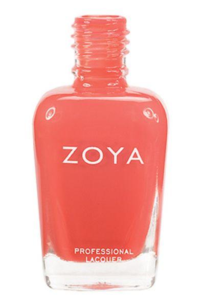 Collection ZOYA : Heidi. On adore le corail : un mélange de rose et de orange qui s'accorde à merveilles. #zoya