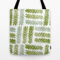 Tote Bag featuring Ferns One by Robin Gayl