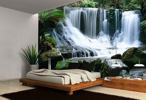 slaapkamer behang ideeën | interieur inrichting | vintage, Deco ideeën