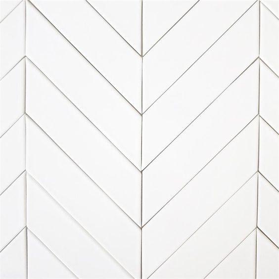 modwalls USA made 2x8 ceramic subway tile in white color Milk