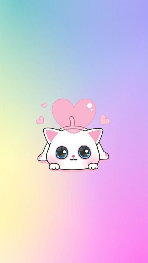Hd Kawaii Wallpapers Cute Backgrounds Images A New Wallpapers App With Beautiful Pictures Of Cute Kawaii Pictures Binatang Gambar Lucu Wallpaper Iphone