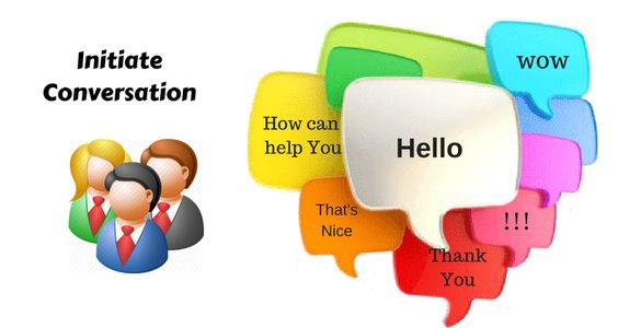 Initiate Conversations