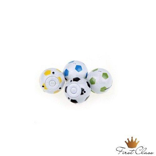 MP3 em formato de bola de futebol personalizado www.brindice.com.br/brindes/mp3-mp4-mp5