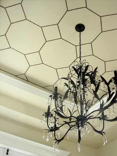 nailheads on the ceiling