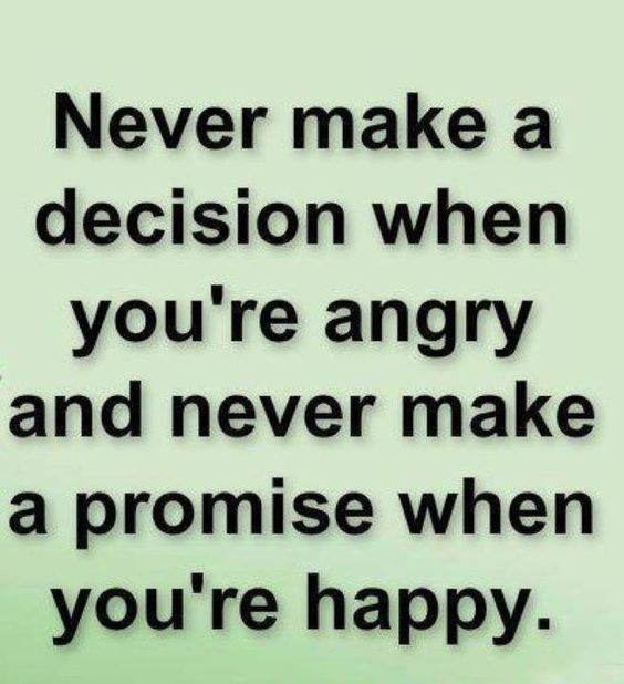 Never ...