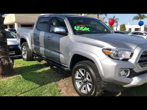 Deal Of The Day 2017 Toyota Tacoma Limited Reassuring Steering Feel With Self Centering Class Leading Off Road Capability One Owne Toyota Tacoma 2017 Toyota Tacoma Toyota