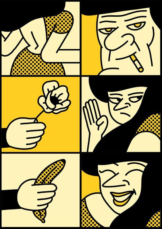Ilustraciones de aire pop por Simon Landrein