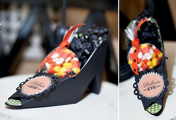 DIY Witch Shoe