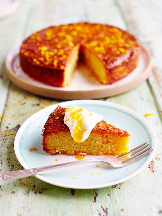 Tried & tested Orange & polenta cake. It's great for when you need to make something gluten free. I also couldn't find polenta so used corn meal.