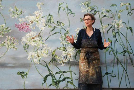 Цветы и женщины или потрясающая мастерская Клер Баслер