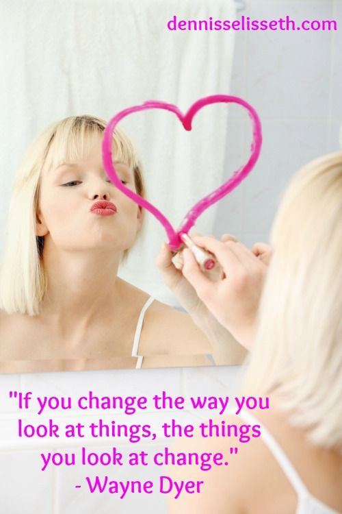 If You Change the Way You Look at Things…