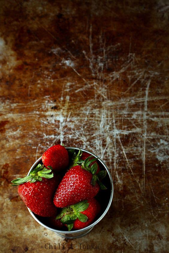 Strawberries by Chili & Tonka blog