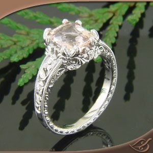 An engagement ring is something that you only get once and you will wear for the rest of your life. I believe that it should be a one of kind just like your marriage. Check out how unique this ring is. #jewelryworks  #engagement
