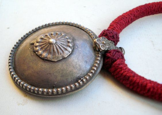 vintage antique ethnic tribal old silver by indiantribaljewelry, $146.00