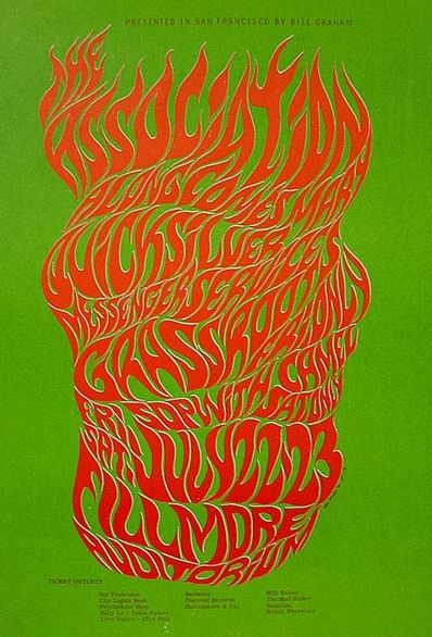 Between 1966 and 1967, San Francisco rock poster artist Wes Wilson designed posters and handbills for the first Trips Festival, the last show by The Beatles ...