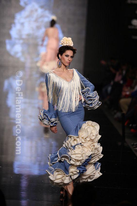 Fotografías Moda Flamenca - Simof 2014 - Sara de Benitez 'Flamên a portet' Simof 2014 - Foto 03