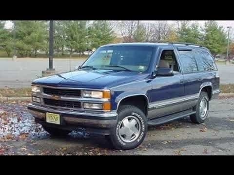 1997 Chevrolet Tahoe Workshop Service Repair Owner S Manual Pdf