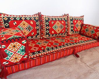 Oriental Floor Seating Arabic Style Majlis Floor Sofa Set Floor Seating Living Room Floor Seating Floor Seating Cushions
