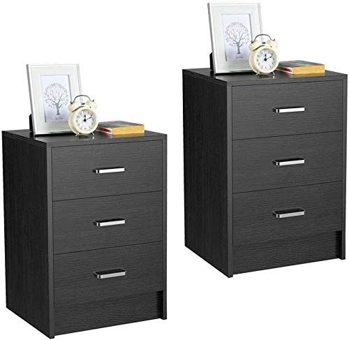 Enjoy Exclusive For Yaheetech Nightstands Bedside Tables 3 Drawers
