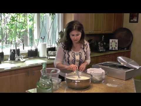 Homemade Feta Cheese جبنة فيتا Samira S Kitchen Episode 183 Part 1 Youtube Cheese Feta Feta Cheese