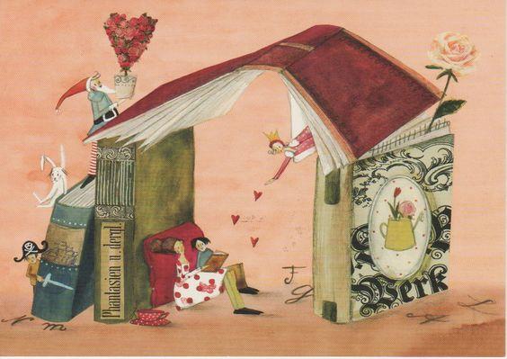 Bookshelter by Silke Leffler