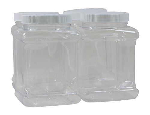 40 Oz Plastic Containers With Lids 4 Pack Bpa Free Food Grade Made In Pinnaclemerc Plastic Containers With Lids Stainless Steel Mixing Bowls Free Food