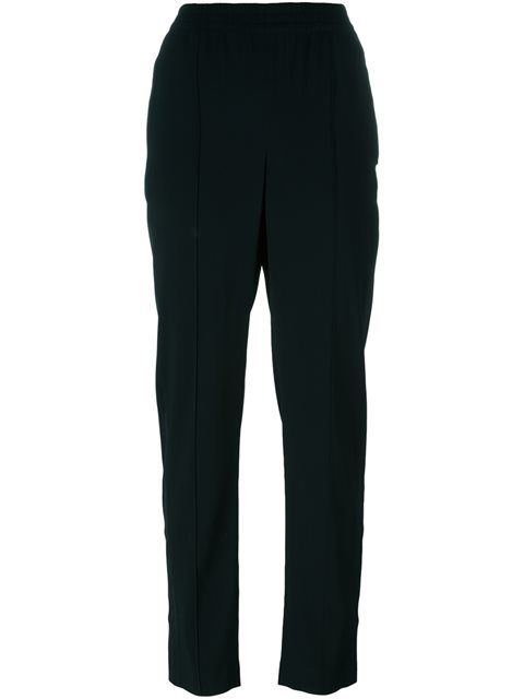 THEORY Pleated Tapered Trousers. #theory #cloth #trousers