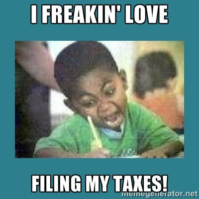 Happy Tax Week Do You Itemize Your Taxes Or Use The Standard Form Vote Votifi Home ColoringKid SaidNoOneEver HappyTaxWe