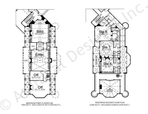Balmoral | Castle Plans | Luxury Home Plans | West Wing, House Plans And  Wings