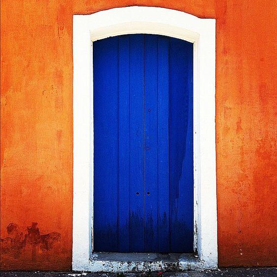 Door blue, @erikalais via Instagram