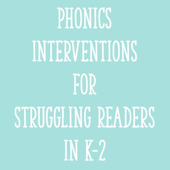 """In this post, I'll explain how to figure out if phonics is a """"problem area"""" for a reader and provide ideas for specific phonics interventions."""