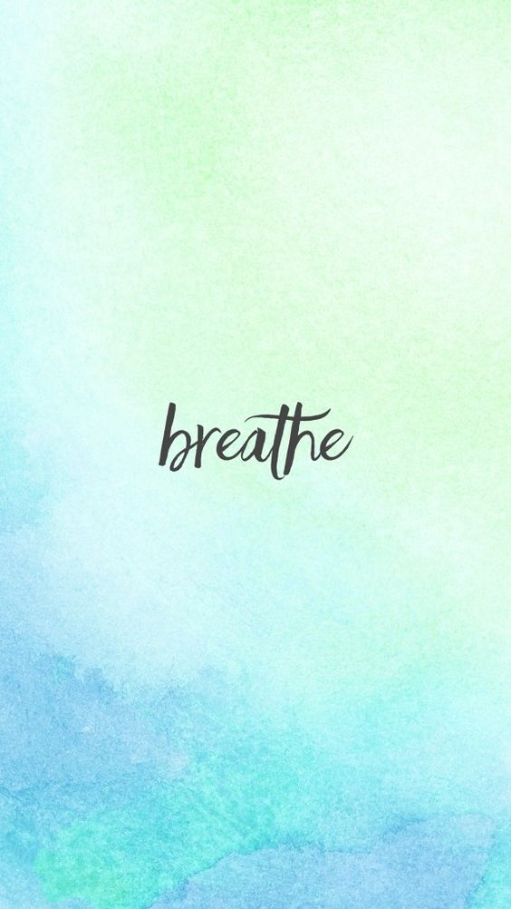 Just Breathe (Plus FREE Lock Screens to Help You Stay Peaceful ...