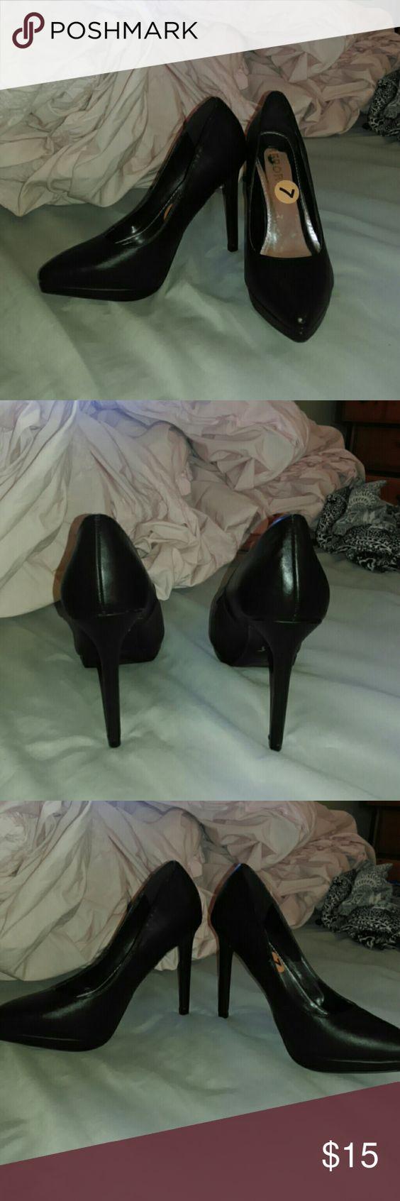 Black Heels New with tags black heels ! Shoes Heels