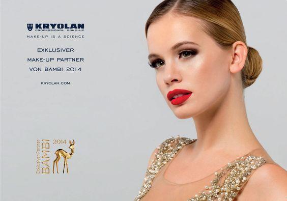 Exklusiver Partner bei der BAMBI-Verleihung am 13.11.2014 in Berlin || Kunde: Kryolan
