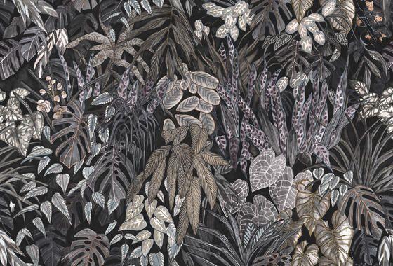 Tropical Trees Modern Wallpaper Photowall In 2020 Fotobehang Behang Bureaubladachtergronden