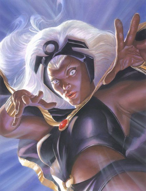 Storm - Alex Ross   Marvel comics art, Alex ross, Storm marvel