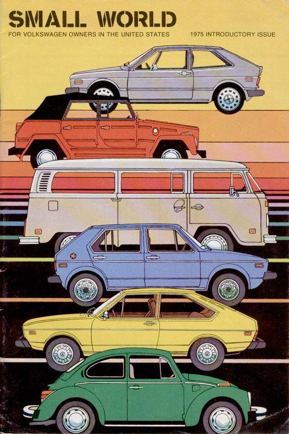 U.S. Export Volkswagens, 1975