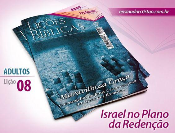 Orientações pedagógicas para a lição 08: Israel no Plano da Redenção, elaboradas por Roberto José.