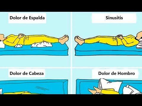 como corregir postura al dormir