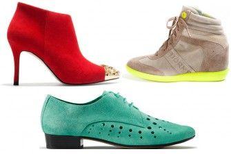 Hauptsache ist, Sie führen diesen Frühling farbenfrohen Schuhe aus. Von pastelligem Rosa bis hin zum knalligem Pink liegen Sie mit jeder Farbe richtig. Wir zeigen die neuen Frühlingsschuhe: